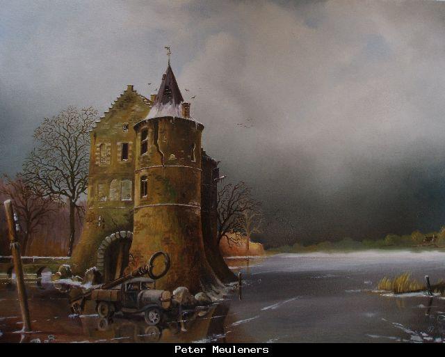 Peter Meuleners: Schloss  Rieveren Voerendaal NL