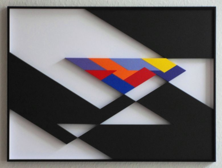 Axel Heibel: Wandobjekt  2016
